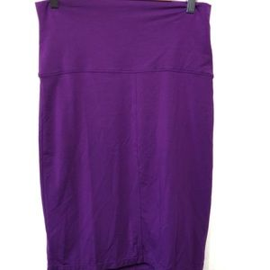 Athleta skirt purple EUC size small tencel spandex